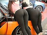 Chicks in Yoga Pants Hot Photo