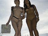 Naked Hiking Photo