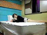 Korean Sex Video Amateur Girlfriend Fucked in Bed