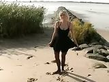 German Couple Fucking on the Beach and Filming